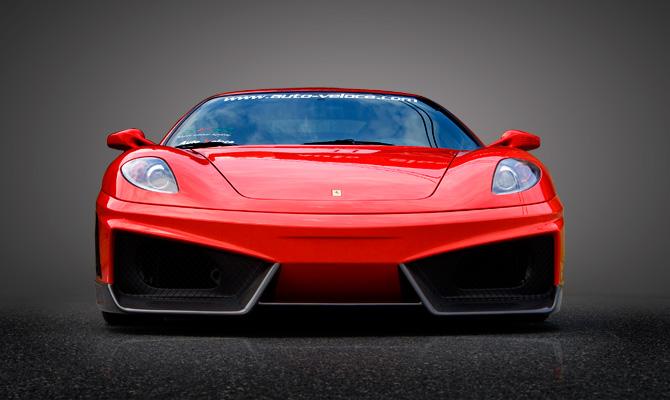 Бампер Ferrari F430 430 - фото 7