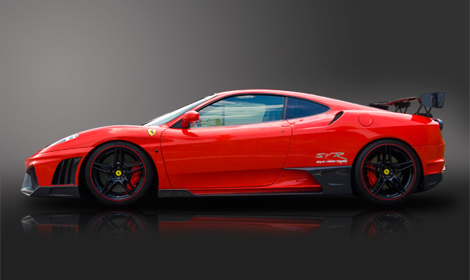 Бампер Ferrari F430 430 - фото 8