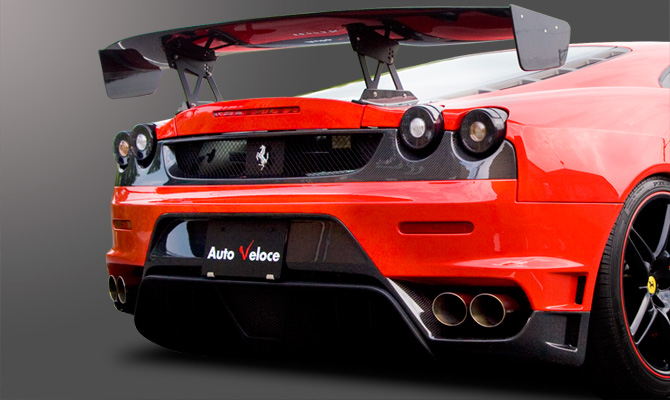 Бампер Ferrari F430 430 - фото 5