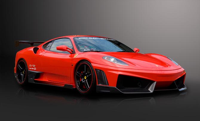 Бампер Ferrari F430 430 - фото 3